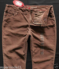 Edc by Esprit vaqueros señora pantalones Cord Stretch High Five slim talla 42/Short