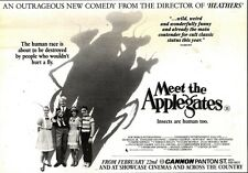 23/2/91 Pgn24 Advert: See meet The Applegates An Outraeous New Comedy 7x11