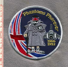 "ROYAL AIR FORCE ""PHANTOMS PHOREVER"" PATCH"