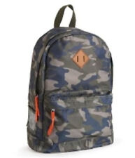 Aeropostale Men's  Camouflage Laptop Backpack Book School Bag Blue Green NWT