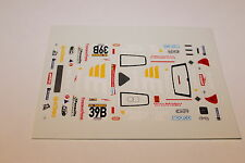 DECALS 1/43 RENAULT CLIO V6 BERTAPELLE TROPHEE ANDROS CIRCUIT RALLY WRC