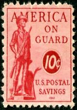 MAGNET US Postage Stamp PHOTO MAGNET America on Guard 1941 Issue 10 cents