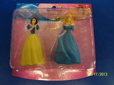 Disney Princess Plastic Toy Figurines Party Cake Toppers - Snow White & Aurora
