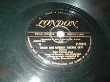 78 WENN DER COWBOY ABENDS SPAT b/w LITTLE JOE THE TEXAS DUO LONDON P.18012