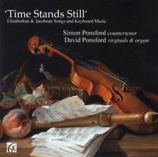 Time Stands Still-Elizabethan & Jacobean Songs von David Ponsford (2014)