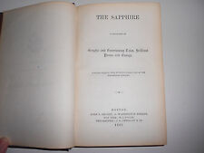 1867 Gem Series: The Sapphire Edited by Epes Sargent