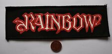 RAINBOW Old/Vtg 70/80`s Printed Patch/écusson/aufnäher/parche Blackmore Dio