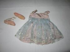 """Vintage Ballerina doll clothes 50's rare 18"""" By Valentine?"""