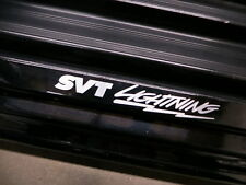 (2pcs) SVT LIGHTNING doorstep badge decal F150