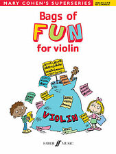 Bags Of Fun For Violin Children Instrumental Solo Beginner FABER Music BOOK