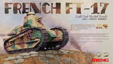 MNGTS-011 – Meng Model 1:35 – French FT-17 Light Tank (Riveted Turret)