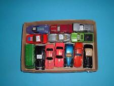 A JOB LOT OF 13 HOT WHEELS CARS ETC IN USED CONDITION VINTAGE C PICS