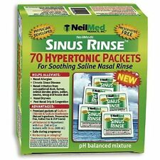 Sinus Rinse Extra Strength Pre-Mixed Packets - Saline Nasal Irrigation 70-Pack