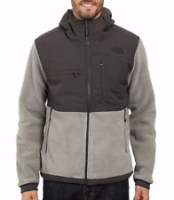 Men's North Face Grey Denali 2 Polartec Fleece Hoodie Jacket M New $199