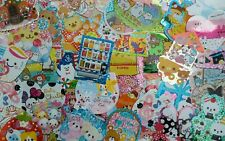 Kawaii Sticker Flakes BIG 15 lot Stationery planners crafts Collector LOOK