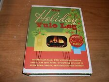 The Holiday Yule Log: DVD with Classic Holiday Carols + Lyric & Gift Book