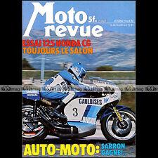 MOTO REVUE N°2288 HONDA CG 125 RCB 750 BOL D'OR DUCATI 900 SS ADLER 250 MBS 1976