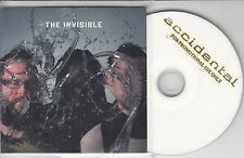 THE INVISIBLE The Invisible 2009 UK 12-track promo test CD