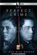American Experience: The Perfect Crime (DVD, 2016) NEW / SEALED