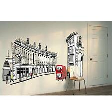 Removable DIY Decor Home Room Mural Roman Street Type Wall Sticker Art Decal