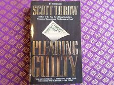 Pleading Guilty by Scott Turow (1994, Paperback, Reprint) Kindle County suspense