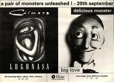 18/9/93PGN31 CHIMARA & DELICIOUS MONSTER ALBUMS ADVERT 7X11""