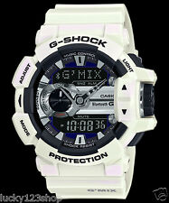 GBA-400-7C White Casio Watches G-Shock X-Large Bluetooth Smart Music Playback