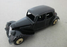 French Dinky Toys Citroen 11BL Traction Avant 1950's French Four Door Saloon