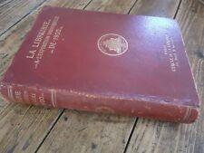 LA LIBRAIRIE L' EDITION MUSICALE PRESSE RELIURE AFFICHE EXPO UNIVERSELLE 1900