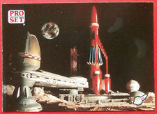 Thunderbirds PRO SET - Card #034 - Thunderbird 3 Moon Base - Pro Set Inc 1992