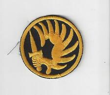 FRENCH FOREIGN LEGION METRO PARA PATCH - GOLD ON BLACK