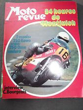 MOTO REVUE 2133 13 juillet 1973  250 kawa cross, 250 Ossa enduro