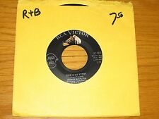 """R&B 45 RPM - MICKEY & SYLVIA - RCA 47-7811 - """"THIS IS MY STORY/WHAT SHOULD I DO"""""""