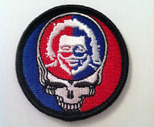 Grateful Dead Steal Your Face Jerry Garcia embroidered sew on patch