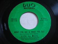 Little Joe Mixon What You See is What You Get 1971 45rpm