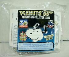 Wendy's Peanuts 50th Anniversary Snoopy Head Keychain Toy #4