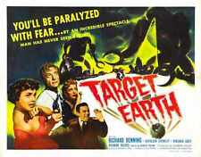 Target Earth Poster 04 Metal Sign A4 12x8 Aluminium