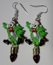 NORA WINN ~BUGS BUNNY~ Earrings 925 Christmas LOONEY TUNES MOVIE CHARACTERS