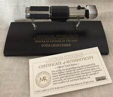 Master Replicas Star Wars Scaled Yoda Ep 3 Lightsaber