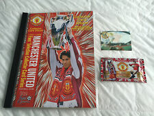 FUTERA MANCHESTER UNITED 1998 COMPLETE SET 108 FOOTBALL CARDS ALBUM FANSMOTION