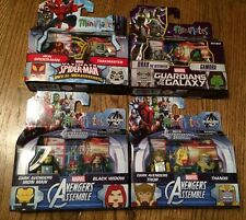 Minimates Marvel Walgreens 4 2-packs Avengers Spider-Man Guardians New Wave 2