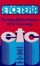 Etcetera: The Unpublished Poems of e. e. cummings (Cummings Typescript-ExLibrary