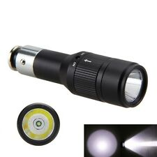 Car Cigarette Lighter 2000LM Q5 LED Vechicle Charging Flashlight Torch Light