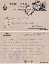 # TREVISO: testatina OSPEDALE PROVINCIALE - IN S. ARTEMIO 1927