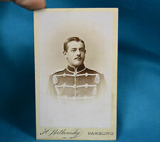 1880 CDV Foto German Deutsches Heer 4th Or 6th Husar Hussar VI Army Corps Soldat