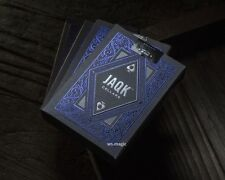 JAQK Blue Playing Cards Deck Cellars Theory11 USPCC Bicycle TallyHo Ellusionist