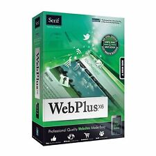 New Boxed Serif DVD WebPlus X6 Design Software special price Only £14.99