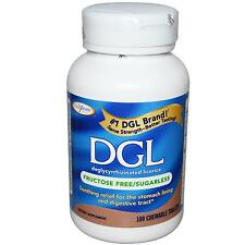 DGL (Deglycyrrhizinated Licorice) - 100 Chewable Tablets - Digestive Support