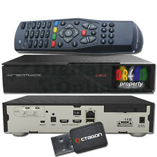 ► original Dreambox dm900 blindados 4k 1xdvb-s2 Dual Tuner e2 Linux PVR receiver + WLAN