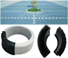 CONCRETE ROUND EDGING PLANT POT PAVING GARDEN SLAB FLOOR TILE MOULD9